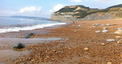 seatown beach and golden cap